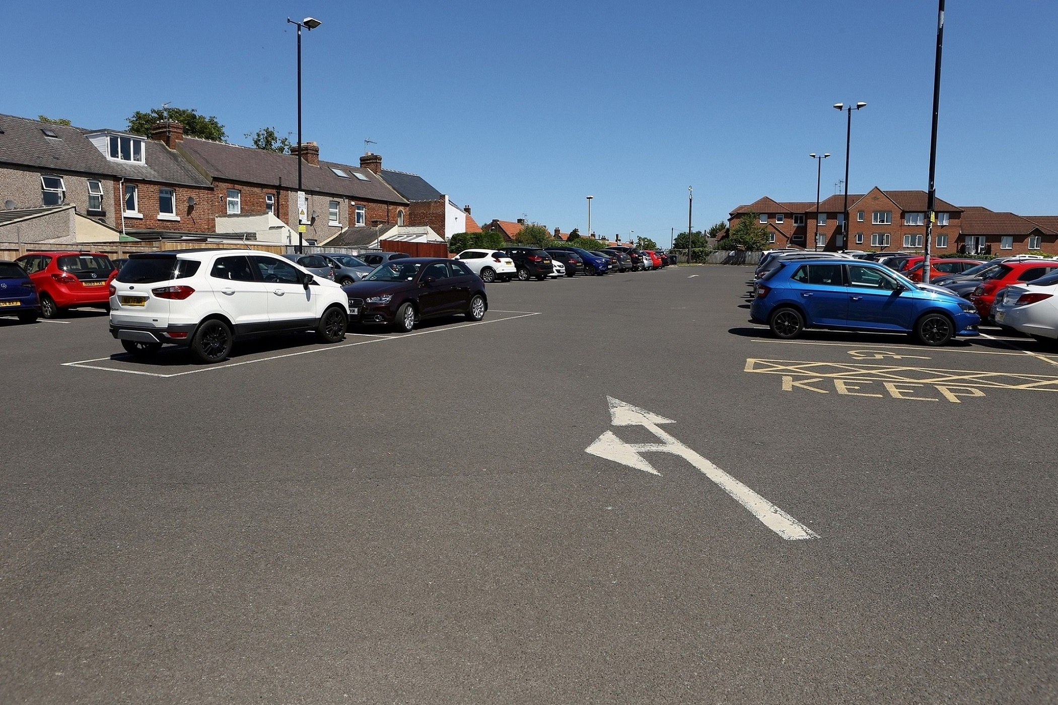 CAR PARK TO BE UPGRADED AS TREADMILLS SCHEME MOVES FORWARD