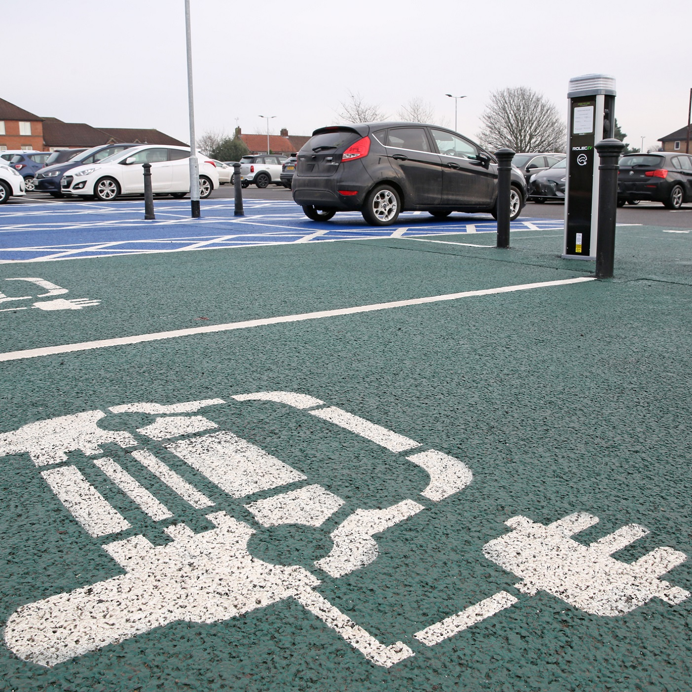 ELECTRIC VEHICLE CHARGING POINTS INTRODUCED IN CAR PARK REVAMP