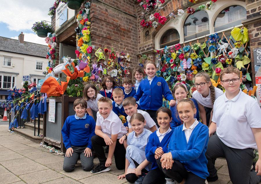 Imagination blooms as children's art project inspires community